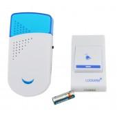 Беспроводной дверной звонок от розетки 220V Luckarm Intelligent A8603 Blue