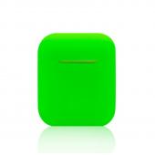 Силиконовый чехол Mavens для беспроводных наушников i10 и AirPods зеленый