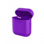 Силиконовый чехол Mavens для беспроводных наушников i10 и AirPods фиолетовый