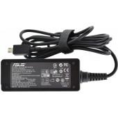 Блок питания для ноутбука Asus 19V 1.75A 33W X205T (прямоугольный 8,2 x 6,5 x 2,3 mm) + кабель питания