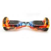 Гироборд 6,5 SmartWay с самобалансом с Bluetooth и колонками Ice Fire