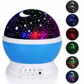 Детский ночник звездного неба UKC Star Master Dream Rotating Blue