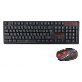 Русская беспроводная клавиатура + мышка UKC HK6500