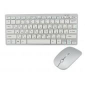 Беспроводный комплект (клавиатура и мышка) UKC 901 Silver