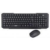 Беспроводная русская клавиатура и мышь UKC 2.4G K-118 (HK-118)