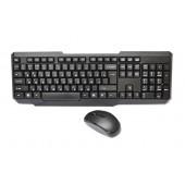 Русская беспроводная клавиатура + мышка W1080