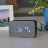 Настольные электронные цифровые часы VST 863-5 Черные