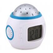Часы с будильником и проектором звездного неба UKC 1038