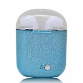Беспроводные Bluetooth наушники HBQ I7S TWS Plus Stereo голубые