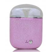 Беспроводные Bluetooth наушники HBQ I7S TWS Plus Stereo розовые