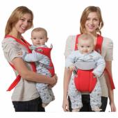 Слинг-рюкзак Baby Carriers Красный
